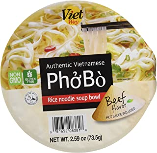 Authentic Vietnamese Pho Bo Rice Noodle Soup Bowl (8)