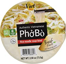 Authentic Vietnamese Pho Bo Rice Noodle Soup Bowl (8)