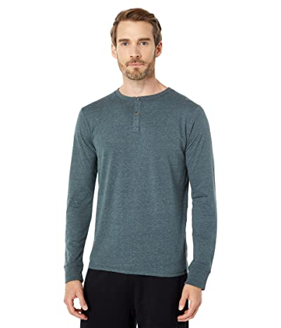 Threads 4 Thought Long Sleeve Tri-Blend Two-Button Henley
