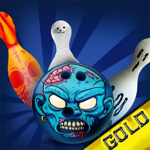 bolos infinita Halloween: el callejón liga pin campeonato deporte miedo - gold...