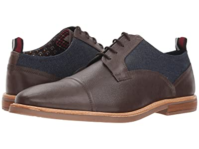 Ben Sherman Birk Cap Toe (Brown Denim) Men