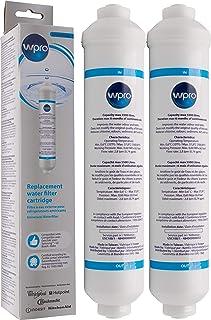 2 X Filtre Universel USC100 WPRO pour frigo US: Samsung, LG,Whirlpool, Daewoo, Haier
