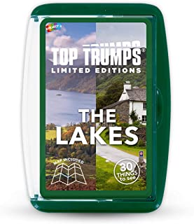 The Lakes Top Trumps Limited Editions Card Game