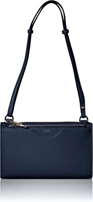 BOSS Damen Taylor Mini Bag Kleine Handtasche aus genarbtem italienischem Leder