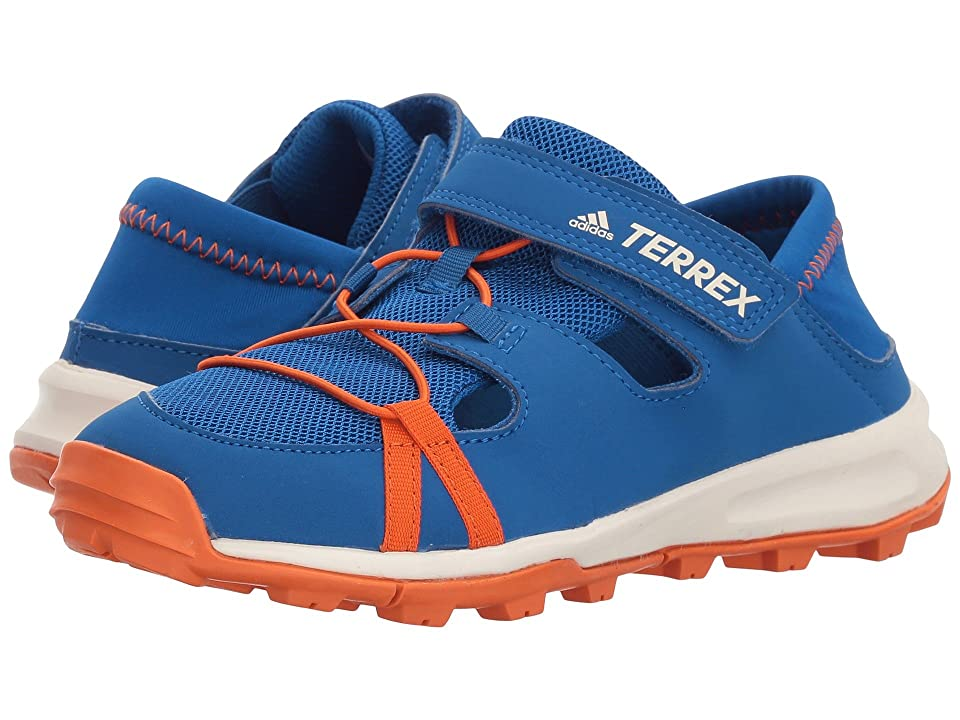 adidas Outdoor Kids Terrex Tivid Schandal CF (Little Kid/Big Kid) (Blue Beauty/Orange/Chalk White) Boys Shoes