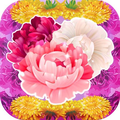 Blumen-Aufkleber