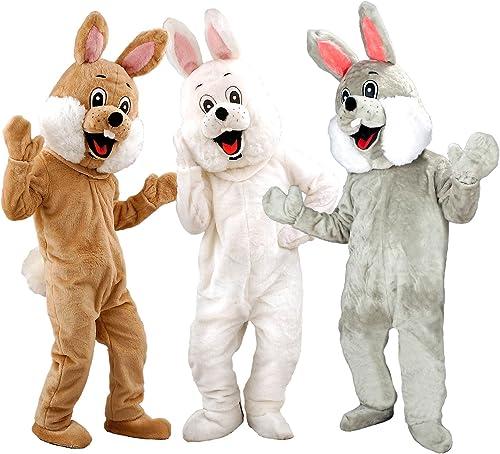 ahorra 50% -75% de descuento Déguisement lapin lapin de Paques marrón marrón marrón gris blanco Promotion qualité  ¡envío gratis!