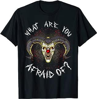 Clown Evil Scary Monster Halloween T-Shirt