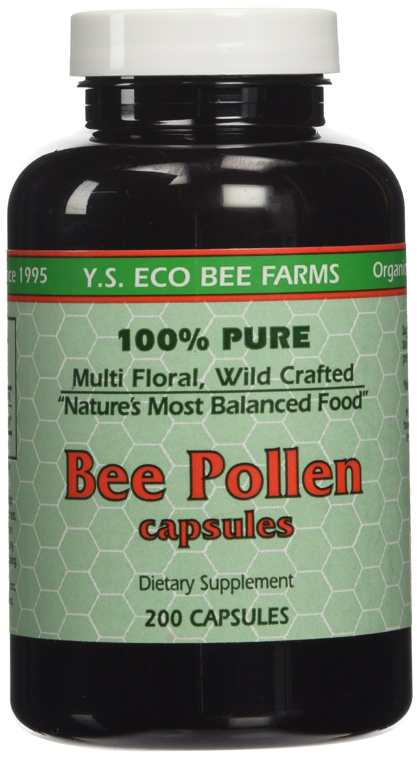 Bee Farms Pollen 000mg Capsules