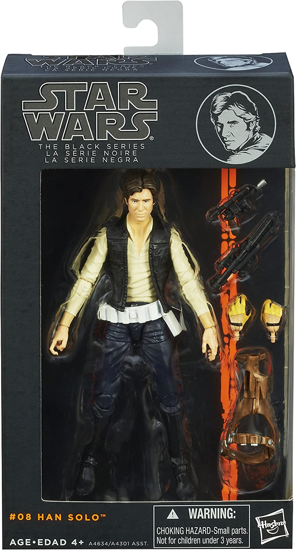 Star Wars The Black Series  08 Han Solo 6 Inch Figure by Star Wars
