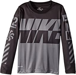 Nike Kids Sublimated Multi Logo Dri-FIT Tee (Little Kids)