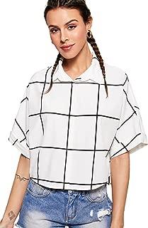womens grid shirt