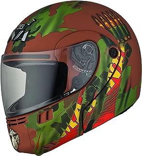 Studds Full Face Helmet Ninja 3G D2 (Matt Brown, XL)