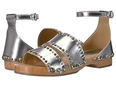 Free People North Shore Clog (Silver) Women