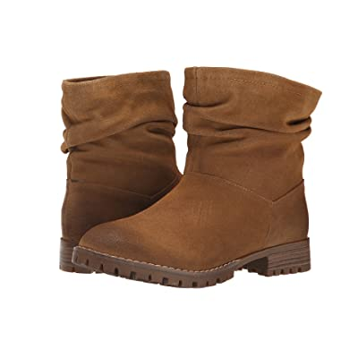 Chinese Laundry Flip Slouch Bootie (Dark Camel Burnished) Women