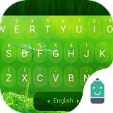 Spring Green Theme&Emoji Keyboard