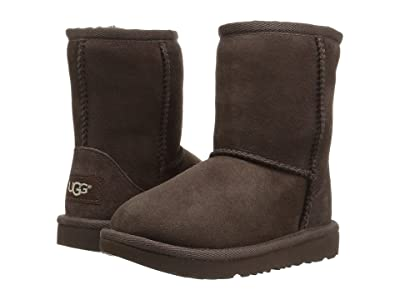 UGG Kids Classic II (Toddler/Little Kid) (Chocolate) Kids Shoes
