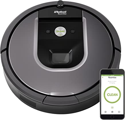 iRobot Roomba 960 Robot Vacuum Bundle- Wi-Fi Connected, Mapping, Ideal for
