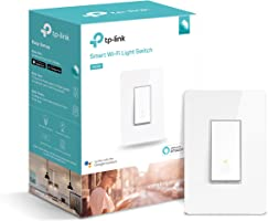 Kasa Smart Wi-Fi Light Switch by TP-Link - Control Lighting from Anywhere, Easy In-Wall Installation (Single-Pole Only),...