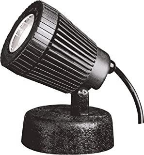 Kichler 15191BK Underwater 1-Light 12V, Black Material (Not Painted)