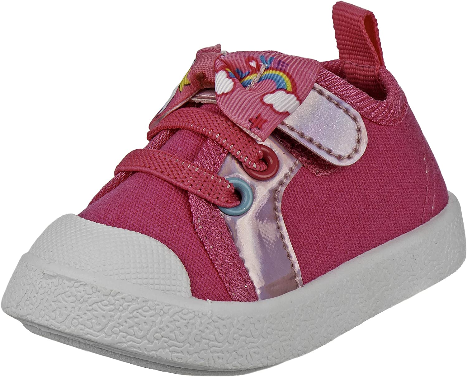 Laura Ashley Baby Girls' Shoes - Infa Sneakers Washington Mall Rainbow Pink New mail order and