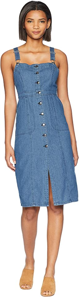 Labor Day Blues Denim Dress