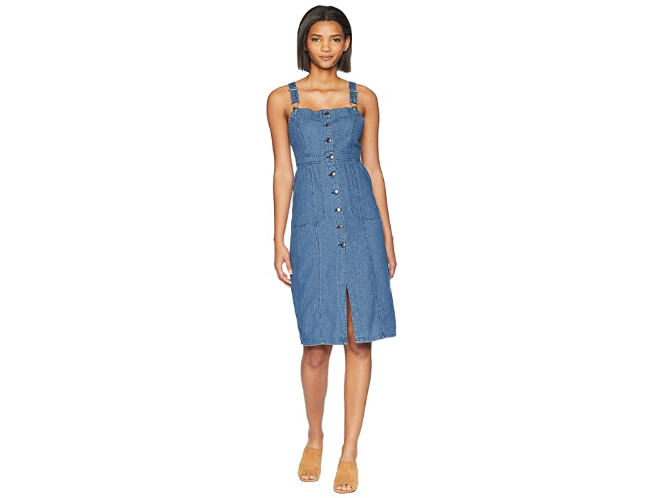 BB Dakota Labor Day Blues Denim Dress (Dark Blue) Women