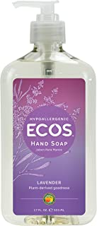 Earth Friendly Products Hand Soap, Lavender, 17-Ounce Bottle (Pack of 6)