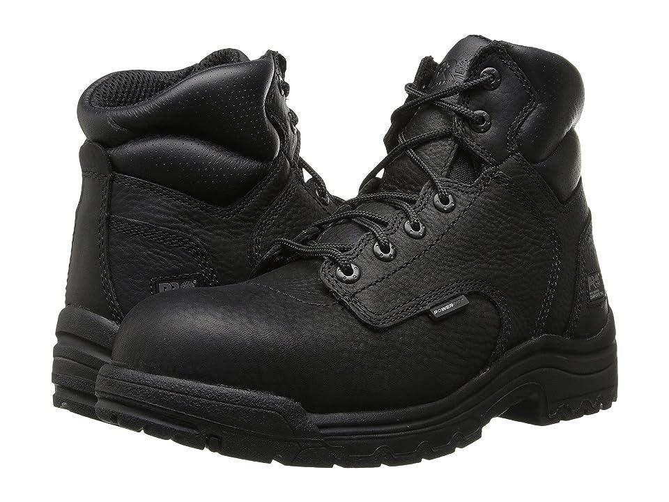 Timberland PRO TiTAN(r) 6 Composite Toe (Black) Men