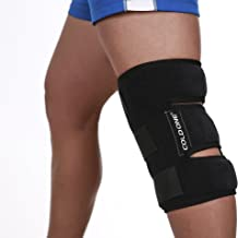 Knee Ice Pack Soft Brace + Compression Cold Therapy 360º Knee Ice Wrap, 15-20 min of O Degree C Knee Icing Recommended by Ortho MDS Safe and Effective. Universal Size. Clinical Quality. USA.