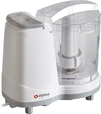 Alpina SF-4020 Mini Electric 3-Cup Food Chopper for 220/240 Volt Countries (Not for USA)