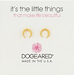 Dogeared - It's The Little Things: Crescent Earrings
