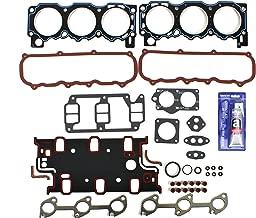CNS EH10351SI Graphite Cylinder Head Gasket Set & RTV Silicone Kit for Ford 2.9L 177cid Bronco II, Ranger, Merkur Scorpio V6 Engine 86-92