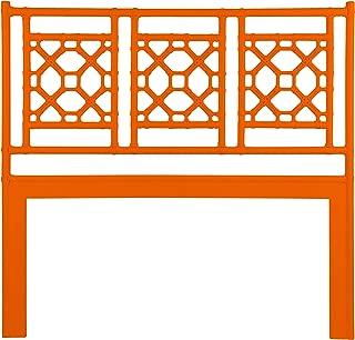 Inspired by David Francis Lewis Headboard Queen Citrus Orange