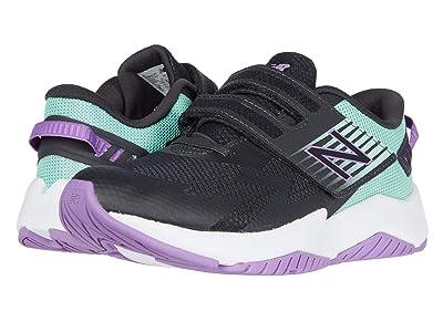 New Balance Kids Rave Run v1 (Little Kid) (Phantom/Neo Mint) Girls Shoes