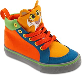 Disney Shere Khan High Top Sneakers for Kids - The Jungle Book Orange