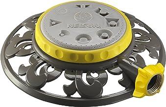 Nelson Eight-Pattern Spray Head Stationary Sprinkler Metal Base
