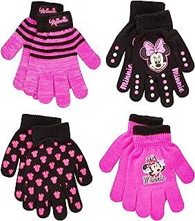 دستکش های کوچک دختران دیزنی 4 دستپوش دستکش یا دستکش ، سن 2-4 یا 4-7 ساله