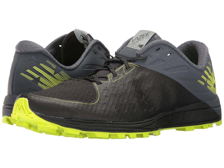 (ニューバランス) New Balance メンズランニングシューズ?スニーカー?靴 Vaze Summit v2 Black/Thunder/High-Lite/Metallic Silver 12.5 (30.5cm) D - Medium