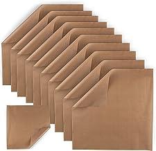 "Amazing Creations 10 Pack Heat Press Non-Stick Teflon Sheets 20 x20"" Heat Resistant Transfer Paper, Reusable Baking Sheets..."