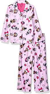 L.O.L. Surprise! Girls 2-Piece Pajama Coat Set