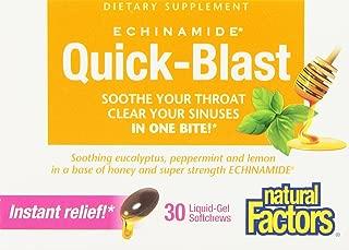 Natural Factors Echinamade Quickblast, 6 Count