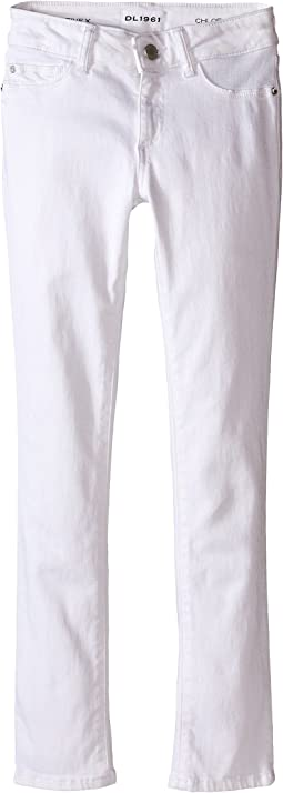 DL1961 Kids - Chloe Skinny Jeans in Snow (Big Kids)