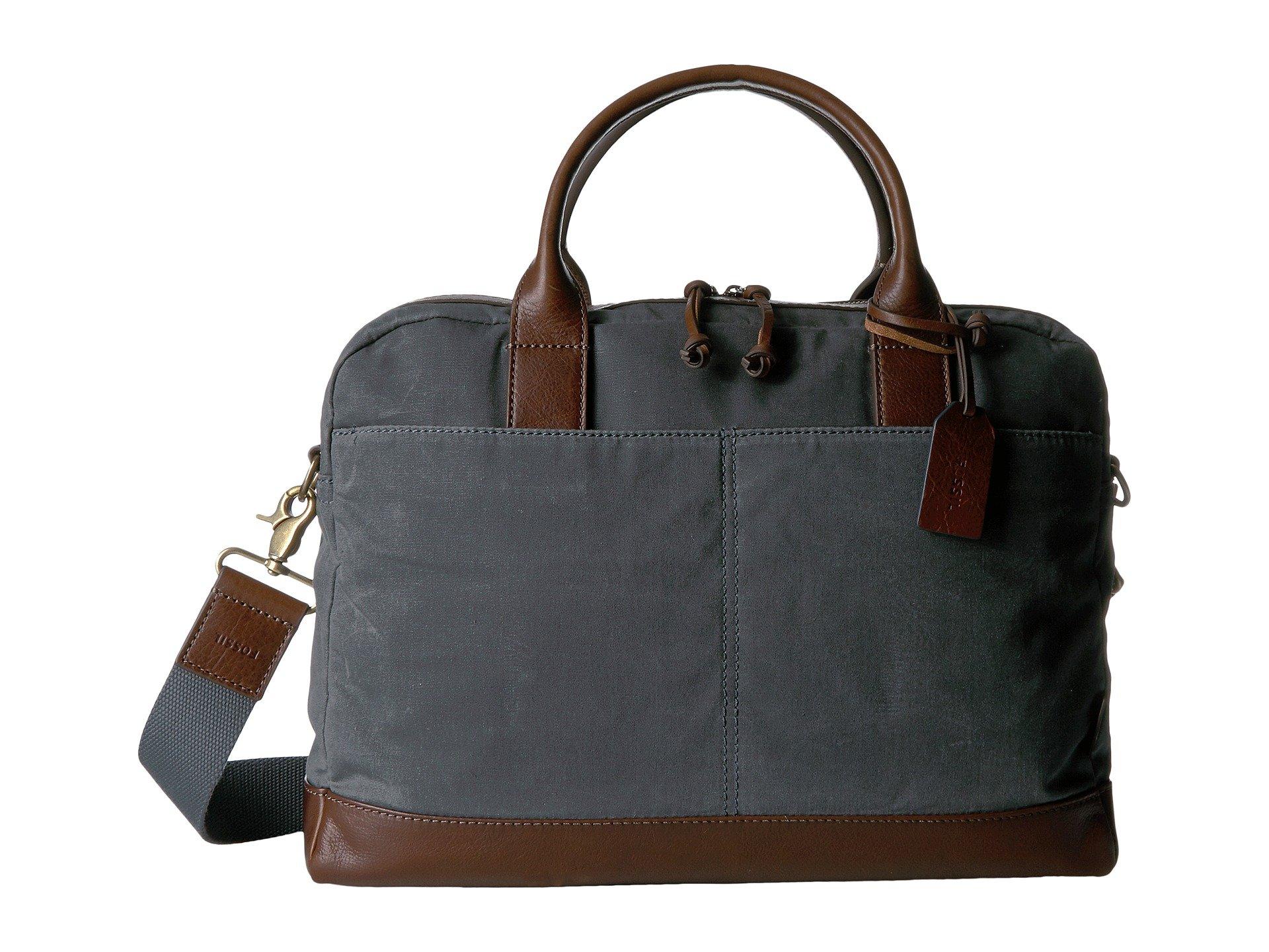 Maletin para Hombre Fossil Wyatt Top Zip Workbag  + Fossil en VeoyCompro.net