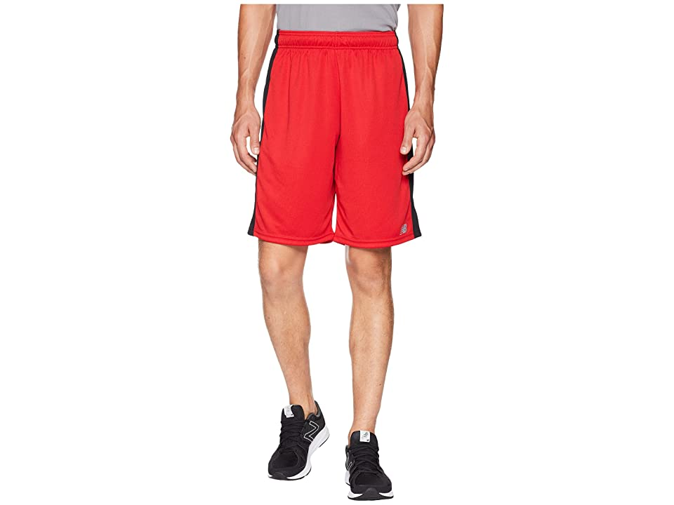 New Balance Versa Shorts (Team Red/Black) Men