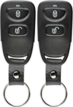 $34 » KeylessOption Keyless Entry Remote Car Key Fob Alarm for Hyundai Santa Fe Accent, Kia Rio Rio5 PINHA-T038 (Pack of 2)