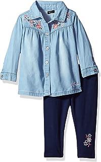 Kensie Baby Girls' Fashion Top and Legging Set