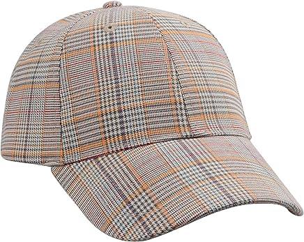 81411fc922c Hatphile Trendy 6 Panel Baseball Cap Plaid