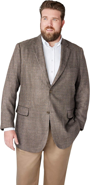 KingSize KS Signature Men's Herringbone Tall Big Blazer 67% OFF Free shipping on posting reviews of fixed price