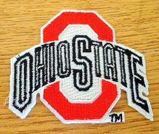 OSU Ohio State Buckeyes Vintage RARE Embroidered NCAA Iron On Patch 2.5